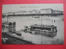 LYON  :  Le Quai de la Guillotière  -  Les Lavandières.....VO.1912.