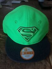 New Era Snap Back Superman Cap