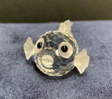 Swarovski Crystal Blowfish mini 013960 w/ box and cert