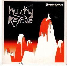 (EL180) Husky Rescue, 5 track album sampler - 2004 DJ CD