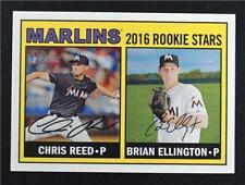 2016 Topps Heritage #169 Brian Ellington RC Chris Reed RC - NM-MT