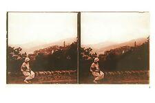Corse Plaque de verre stéréo positive 7x13 cm