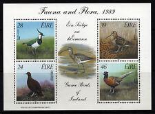 IRELAND 1989 Game Birds MiniSheet SG MS 737 MNH