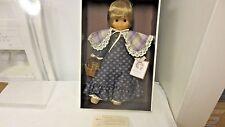 """1970's C R Club France Coraline 15"""" Doll-Boxed, Hang Tag #807102-Kanekalon Hair"""