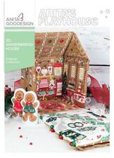 3D Gingerbread House Anita Goodesign Embroidery Machine Design Cd New