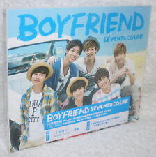 Boyfriend SEVENTH COLOR 2014 Taiwan Ltd CD+DVD+another jacket