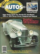 SPECIAL-INTEREST AUTOS 1987 AUG #100 - SUPERBIRD, 911,'35 SSJ, '54 & '55 CHEVY