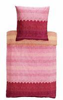 Bassetti Mako ropa de cama satinada Appiani V9 FUCSIA NARANJA 155x220 Algodón