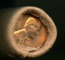 New listing 1954 D Lincoln Cent Obw Original Bank Wrap Uncirculated Roll #50