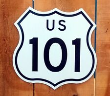 """Route 101 Interstate Highway Sign - 15""""x15"""""""