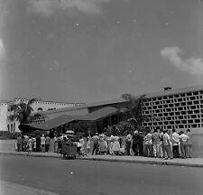 1960 original negative medium format Cuba Line requesting exit permits to leave