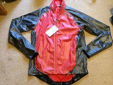 2XU Membrane Waterproof Jacket Medium 10 BNWT $200 Womens Red Grey NEW Running