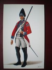 POSTCARD PRIVATE (GRENADIER COMPANY) THE ROYAL REGIMENT OF FOOT 1768