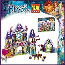 ELVES Skyra's Mysterious Sky Castle 809 pcs building toy new 10415
