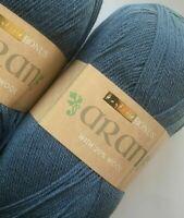 400gms Sirdar/Hayfield Bonus ARAN  20% Wool Knit, crochet, yarn DENIM BLUE