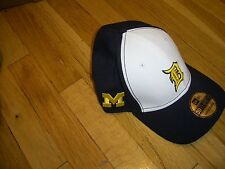 New Era University Michigan & Detroit Tigers FLEXFIT Hat S/M M/L L/XL WALLET