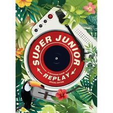 Super Junior-[Replay] 8th Repackage Kihno Compact Package+Muz-Kit+14p PhotoCard