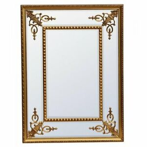 Stunning Gold Wall Mirror For Sale French Gold Ornate Mirror Bevelled 122cm 92cm