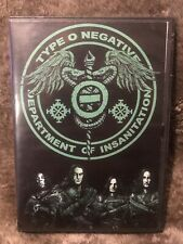 Type O Negative Dvd Concert Electric Factory Philadelphia December 16 2003