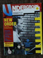 Underground magazine - New Order, Sugarcubes, Steve Albini, Meteors, Pixies 1988