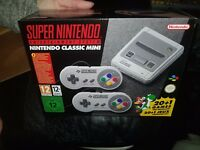 Nintendo Classic Mini: Super Nintendo Entertainment System SNES Mini Console New