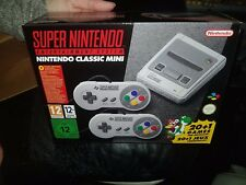 Nintendo Classic Mini: Super Nintendo Entertainment SNES Mini Consola Nuevo System