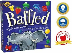 Cheatwell Baffled Great Board Game 12 Symbol Tiles Play Time Children Under Last