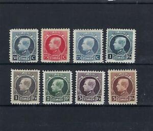 [LK14902] Belgium N°211/218 Royalty MH * COB € 29,00 MIX