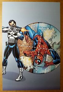 Essential Punisher Amazing Spider-Man Marvel Comics Poster by Gil Kane