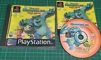 Sony PS1, Monsters Inc Scare Island, Playstation, Complete. Disney Pixar