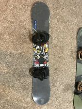2012 Burton Blunt Snowboard With Freestyle Bindings Men's Medium