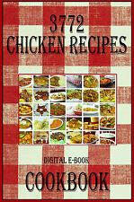 3772 Delicious Chicken Recipes E-Book Cookbook CD-ROM