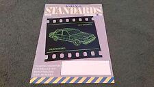 1984 / 1985 VOLVO STANDARDS MAGAZINE ISSUE 6 UK BROCHURE 340 360 240 740 760 260
