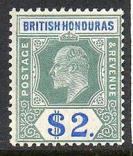 British Honduras 1907  EDVII  MM SG 92 Cat. £160