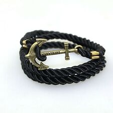 VINTAGE BRONZE ANCHOR BRACELET FOR MEN