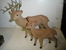 buck & deer figures