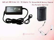 AC Adapter For Roland BA-55 BA55 Battery Powered Portable Amplifier Power Supply