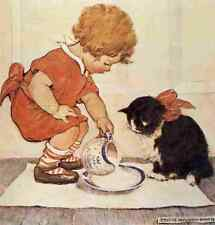 A4 Photo Willcox Smith Jessie A Little Childs Book of Stories Pals Print Poster