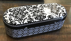 Brighton Black & White Eyeglass ~ Sunglass Case