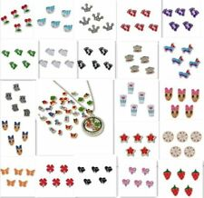 30pcs Handmade Mix Floating Pendant Glass Living Memory Colorful Locket Charm