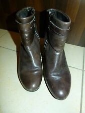 Belmondo Damen Schuhe Gr. 39 Stiefel Stiefeletten Braun Damen Boots Pumps