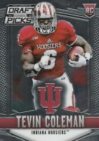 2015 PRIZM DRAFT PICKS TEVIN COLEMAN RB INDIANA (FALCONS ROOKIE) #145