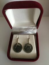 More details for george v silver threepence earrings | pennies2pounds
