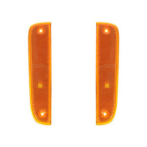 NEW PAIR OF TURN SIGNAL LIGHTS FITS JEEP CHEROKEE 1997-2001 55055146 CH2550118