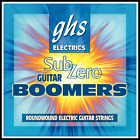 GHS Sub-Zero Guitar Boomers Electric Guitar Strings - Light 10 - 46 CR-GBL New