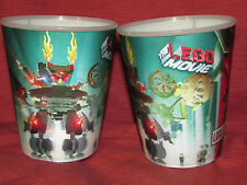 THE LEGO MOVIE 2013 Lenticulare Cups McDonald's Premuim Lord/President Business