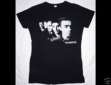 The Wanted Word Of Mouth World Tour 2013 Junior Size Large Black T-Shirt