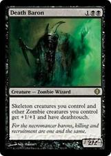 DEATH BARON Shards of Alara MTG Black Creature — Zombie Wizard RARE