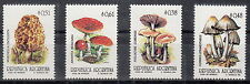 ARGENTINA 1992 Serie Stamps Funghi Mushroom Yvert Tellier 1775 + A1792-4 MNH**