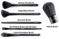 Avon Make Up Brushes* Angled Blusher, Eye Shadow & Liner, Foundation, Kabuki NEW